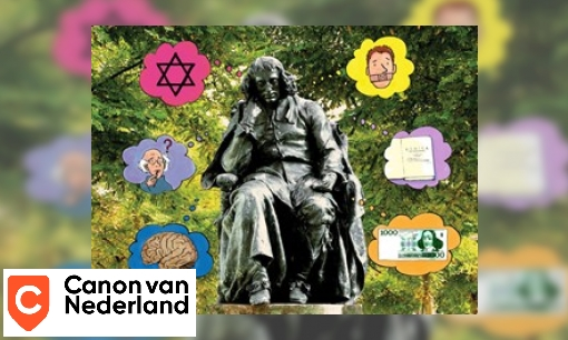 Plaatje Vensterplaat Spinoza