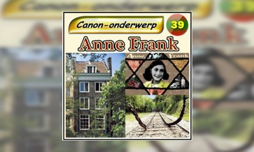 Plaatje Canon-pad Anne Frank