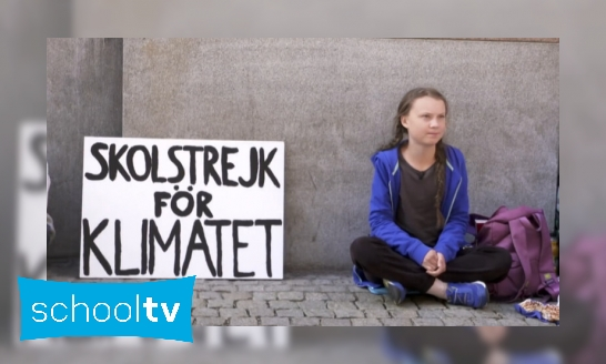 Plaatje Wie is Greta Thunberg?