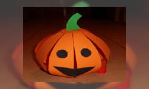 Knutselen Halloween Groep 3.Jeugdbieb