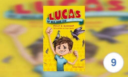 Lucas op weg naar een wereldrecord