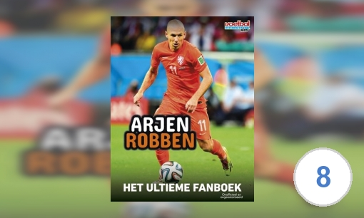 Arjen Robben: het ultieme fanboek