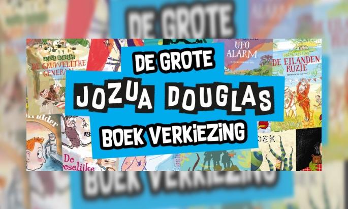 De grote Jozua Douglas boekverkiezing